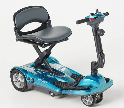 The New 2020 EV Rider Transport Deluxe AF+ 4 Wheel Auto Folding Scooter- Take Additional $100 Off.