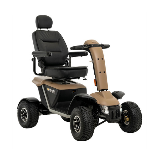 New Wrangler All-Terrain Scooter by Pride Mobility-350 lb weight capacity