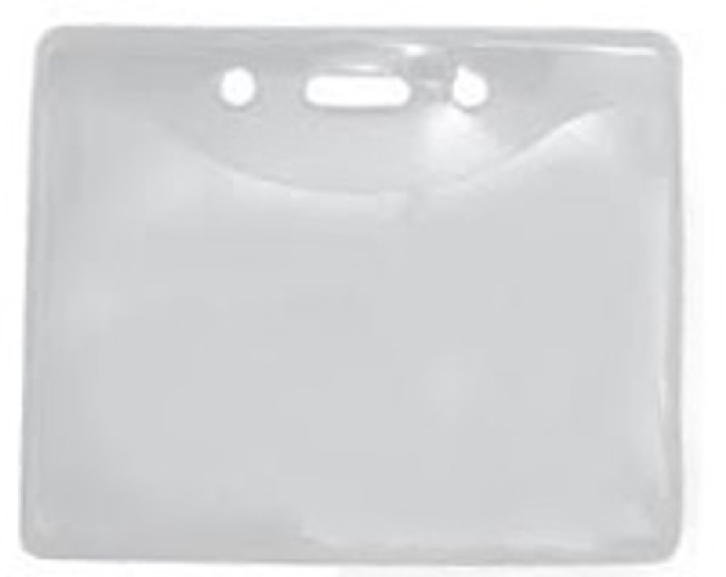 Pure Clear Badge Holders (100)