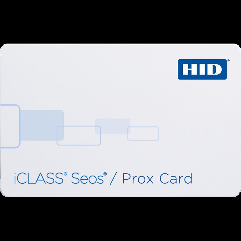 iCLASS® Seos 5206 Card 5206 - iCLASS Seos + iCLASS + Prox Card