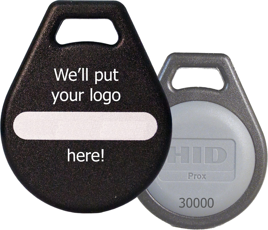 LogoPROX™ Custom-Printed ProxKey® III Key Fob (26Bit)