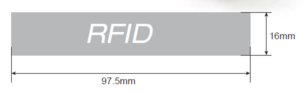 Silicon Proximity Wristband, HID 125kHz Technology RapidPROX RapidBAND