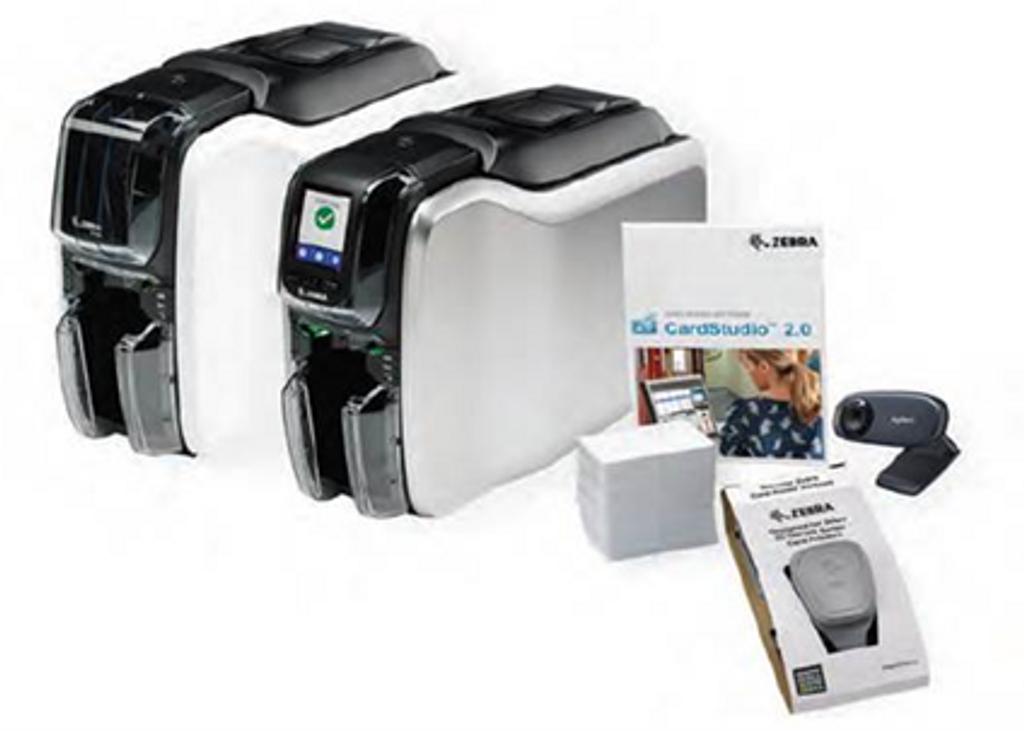 Zebra ZC300 Dual-Sided Printer Bundle