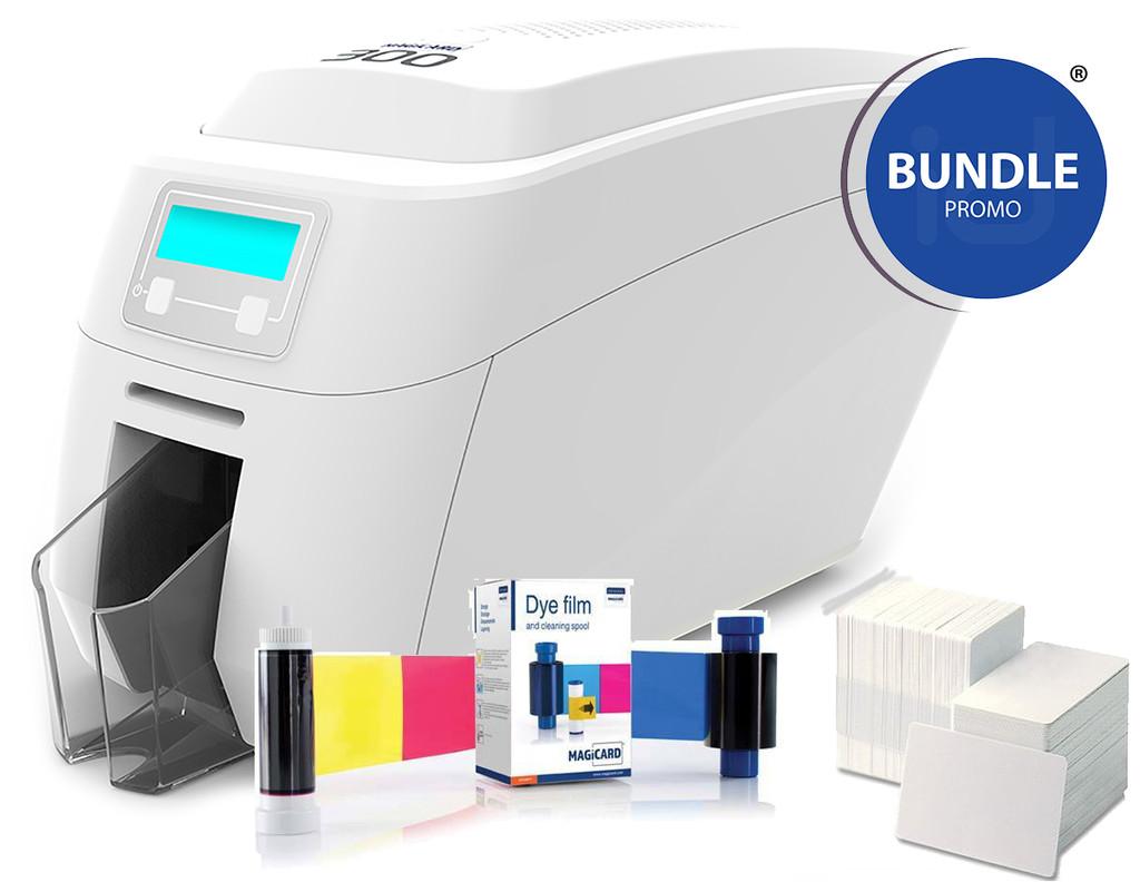 Magicard 300 Single-Sided Printer Bundle.