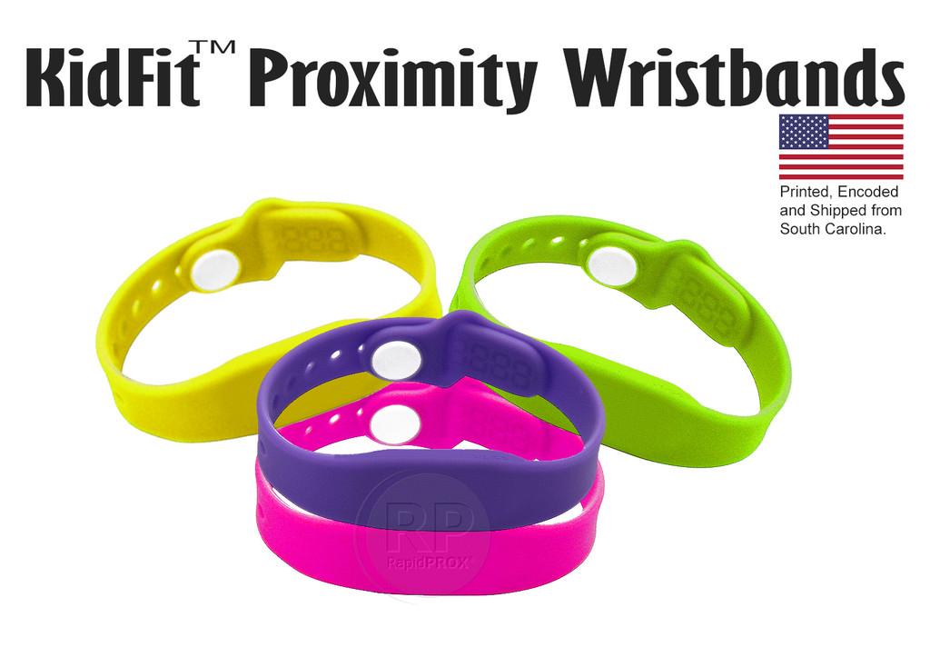 RapidPROX KidFit Wristbands