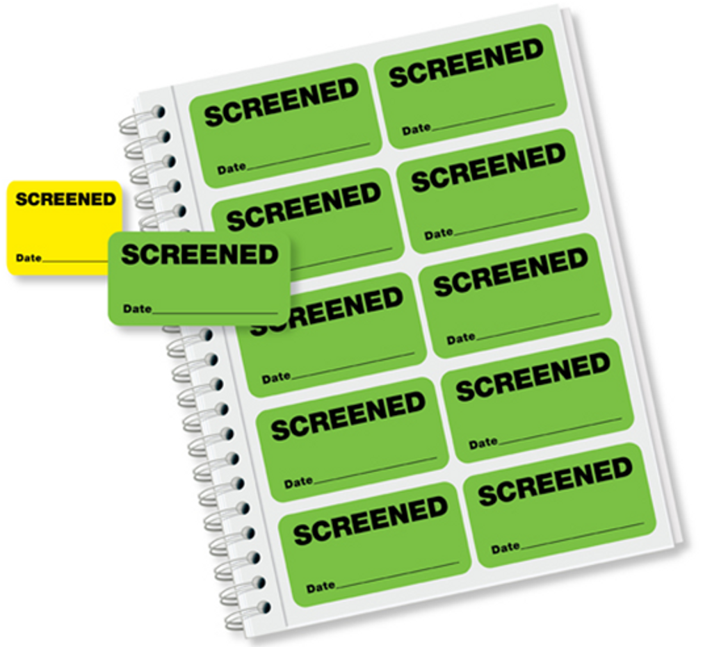 Screening Labels