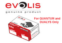 Evolis YMCKOK Printer Ribbon, #R3314