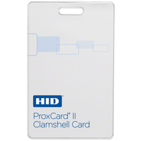 1326LSSMV HID ProxCard II Clamshell Proximity Card HID Prox II Card HID Clamshell Card