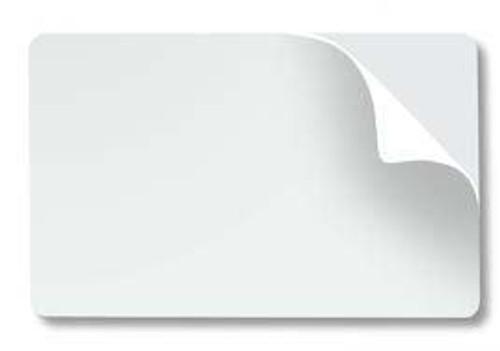 Adhesive-Backed PVC Card
