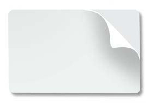 Adhesive-Backed PVC Cards, M3610-054B