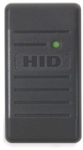 HID®  6005BGB00 Proxpoint Plus Reader, Gray with Pigtail