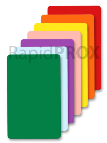 BLUE Proximity ISO Cards Colored ISO Proximity Cards RapidPROX® ISO Proximity Card