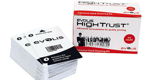 Evolis Cleaning Cards, ACL003