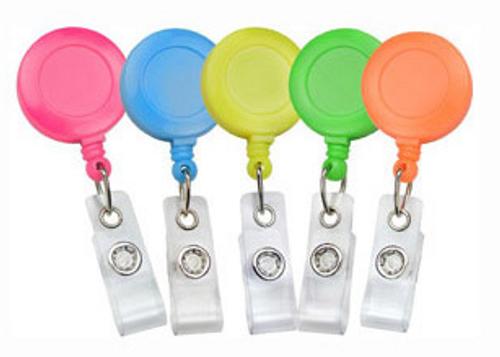 Neon Badge Reels