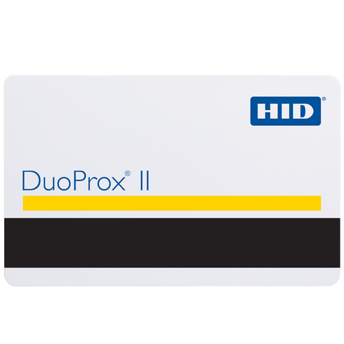 HID® DuoProx II Card 1336LGGMN, Format H10302 with No Facility Code