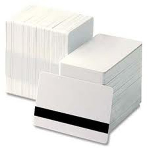 "30mil PVC Cards with Two-Track Hi-Co Mag Stripe, 5/16"" Wide Mag"
