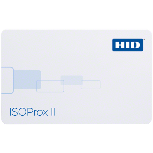HID ISOProx II Proximity Card for Keyscan, Format C15001 (100 Cards)