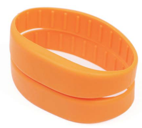 Silicon RFID Wristband, MIFARE Technology RapidBAND, 13.56MHz, ISO 14443A