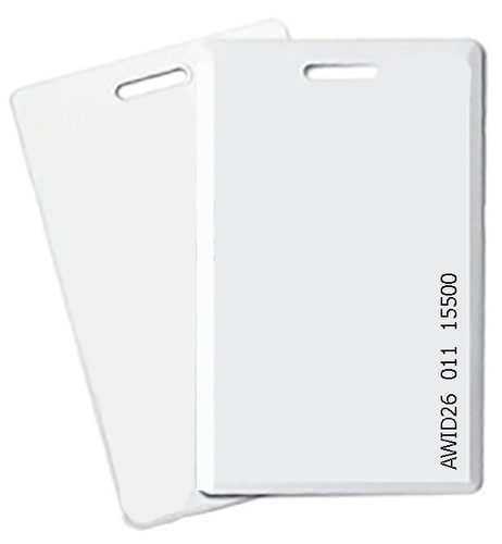 RapidPROX® 50BIT Clamshell Card for AWID®125kHz Technology,  RBH50