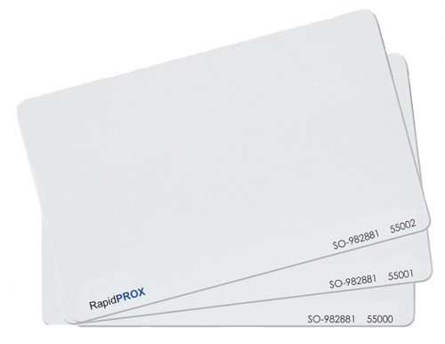 RapidPROX 26Bit ISO for INDALA 125kHz  (100 Cards)