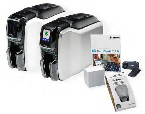 Zebra ZC100 Printer Bundle