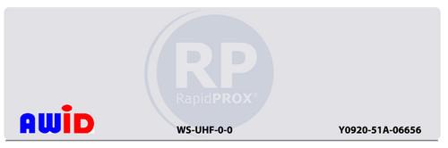 AWID UHF Windshielf Tag, WS-UHF-0-0