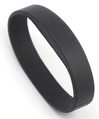 Silicon RFID Wristband, NTAG Technology RapidBAND, 13.56MHz, ISO 14443A