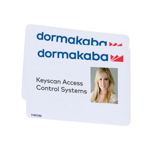 Keyscan® K-SECURE 1K MIFARE 13.56MHz Contactless Smart Cards  (50 Cards)