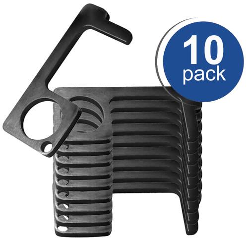 Touchless Door Opener, BLACK  Color (10 Pack)
