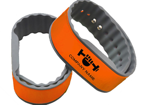 RapidPROX® Custom-Printed SportFit™ (100 Bands) for AWID® 125kHz Proximity Technology,  Adjustable, Contactless & Touch-Free