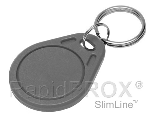RapidPROX® SlimLine™ 26Bit Proximity Key Fob for INDALA 125kHz Technology  (25 Keys)