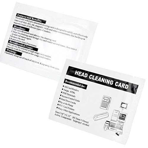 Head Cleaning Cards (Box of 50 Cards)