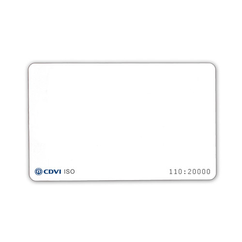 CDVI®  Printable ISO Cards   (25 Pieces)
