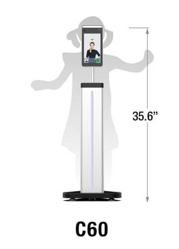 CDVI®  C60 Child-Size Stand* (Base+Column) for FTC1000 (*Stand Only)