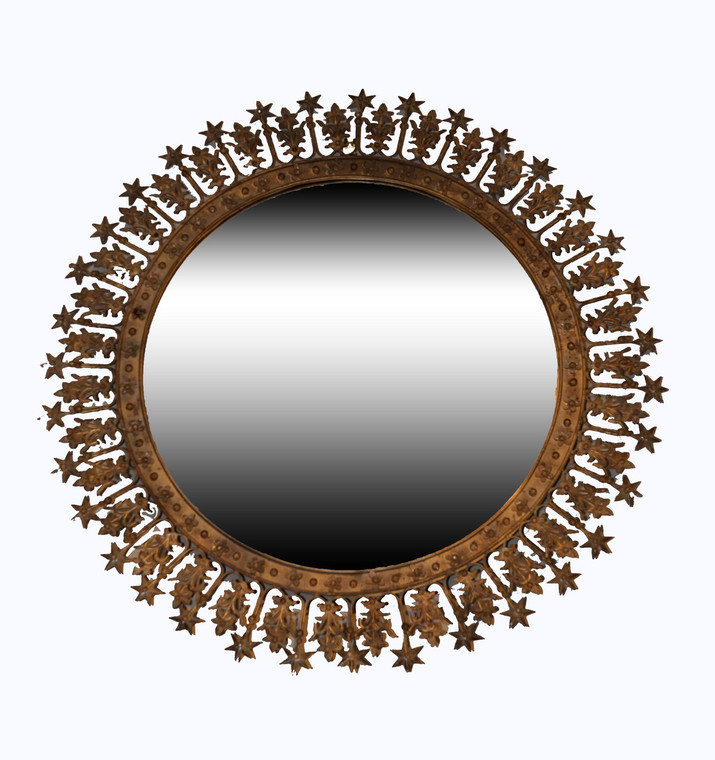 Corona Metal Sunburst Mirror