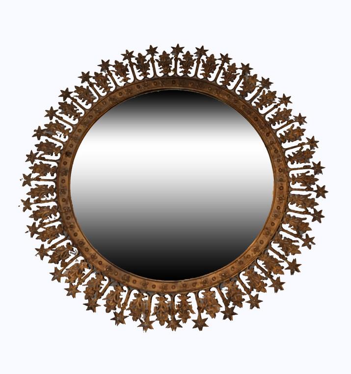 Corona Metal Sunburst Mirror