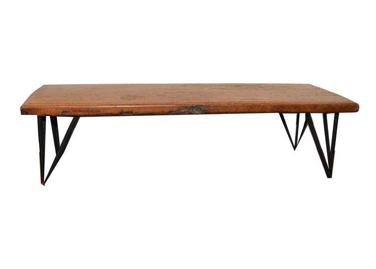 Antique Longan Wood Bench/Coffee Table