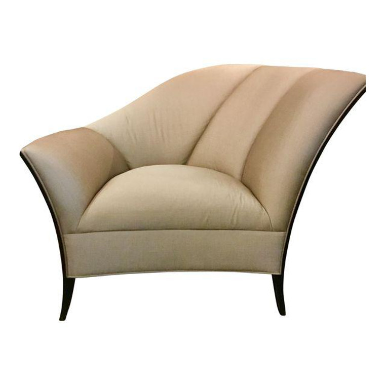 Caracole Deco Style Upholstered Chair