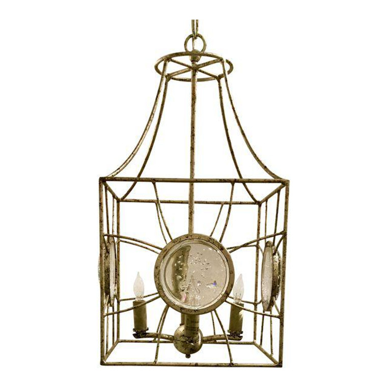 Currey and Co. Modern Gold Leaf Celestia Lanterns
