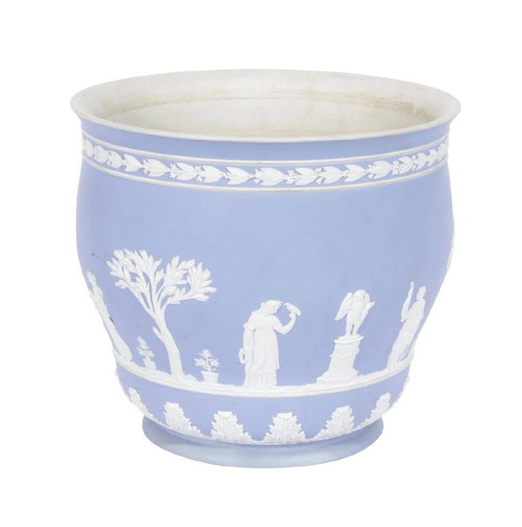 Wedgwood Light Blue Jasperware Cachepot