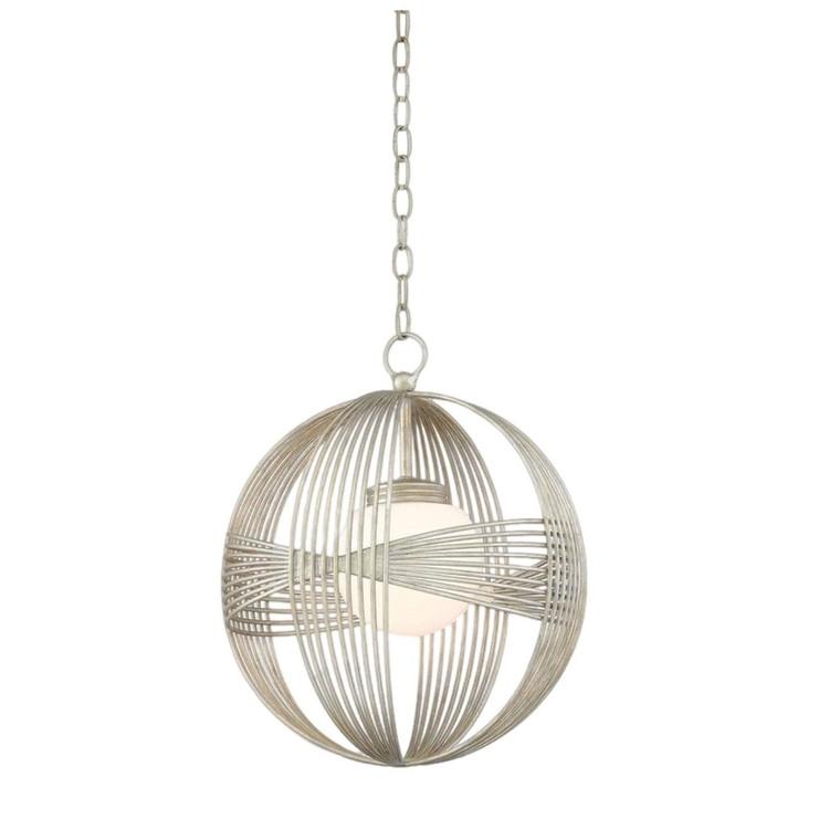 Art Deco Currey & Co. Circulaire Pendant
