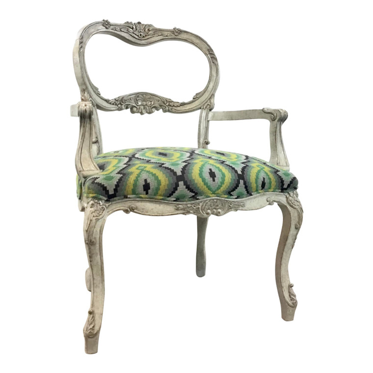 Currey & Co. Modern French Style Belvoir Arm Chair