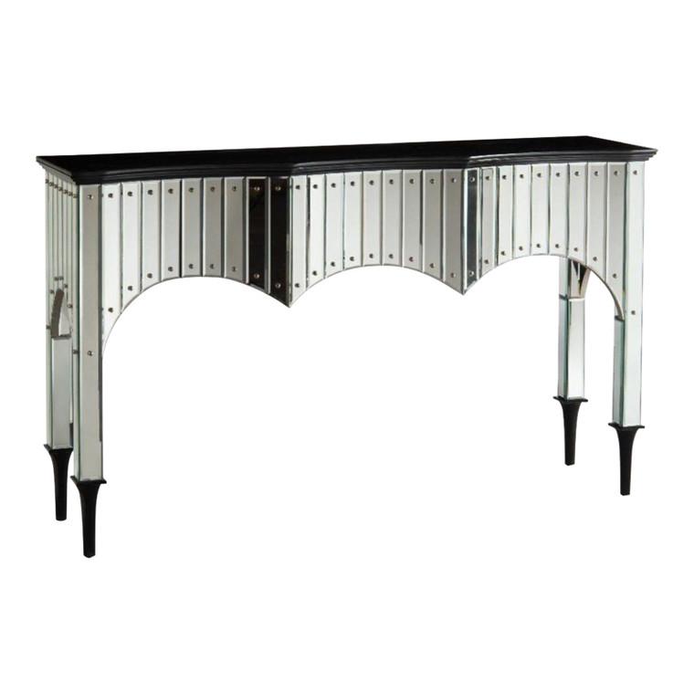 John Richard Modern Malibu Mirrored Console Table
