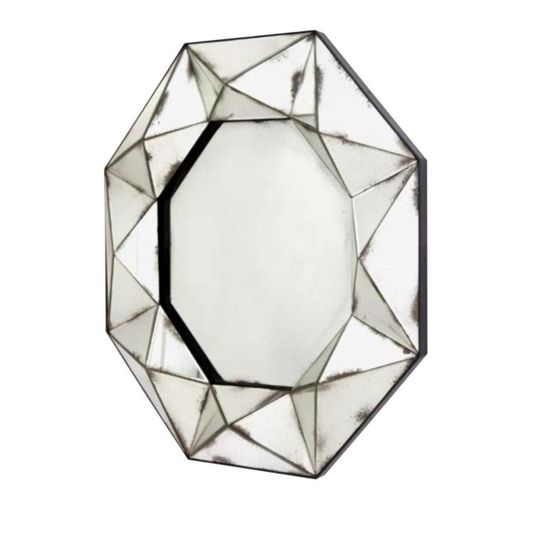 Bungalow 5 Modern Geometric Antique Mirror Wall Mirror