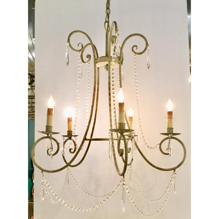 Currey & Co, French Style Chandelier