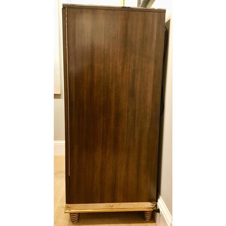 Modern Henredon Bihuber Barclays St. Bar Cabinet