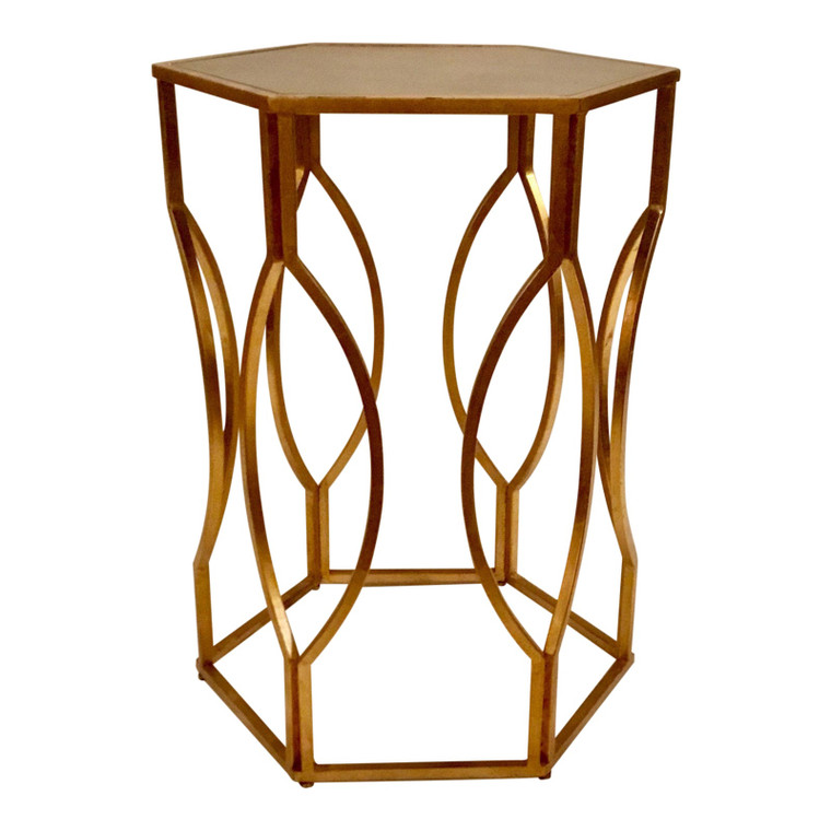 Worlds Away Morrocan Side Table