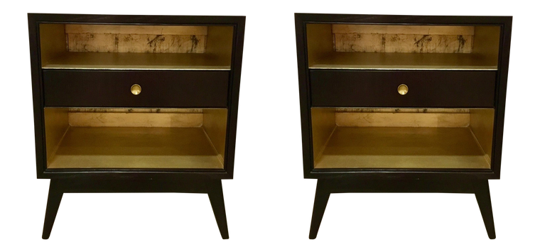 Hickory Chair Val Side Tables - A Pair