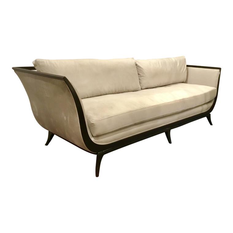 Caracole Modern Love A-Flair Velvet Sofa