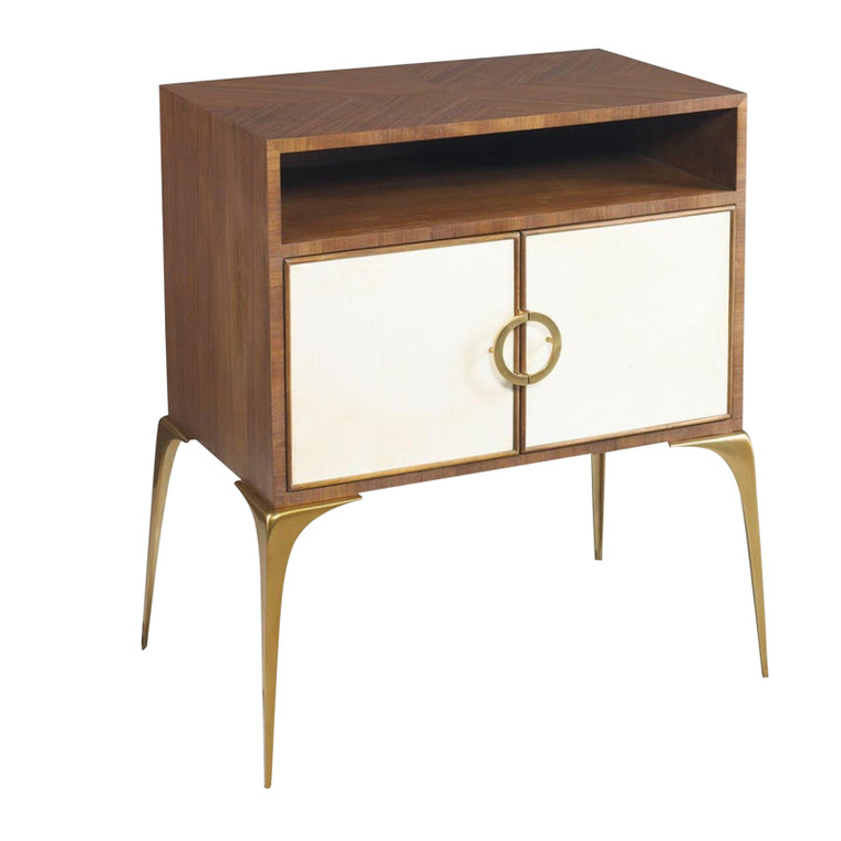 Hickory White Lilian August Marcel Table